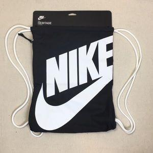 Nike Heritage gymsack drawstring backpack NWT